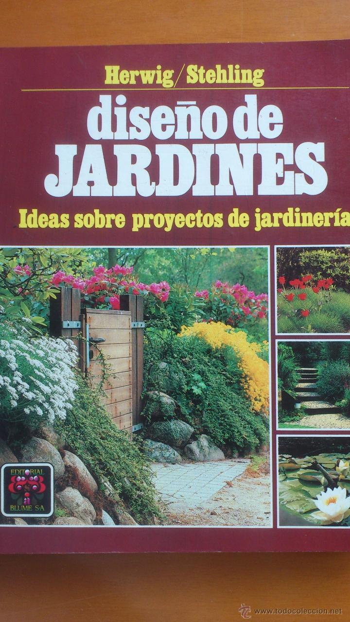 Dise o de jardines ideas sobre proyectos de ja comprar for Libros de jardineria