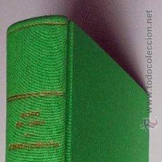 Libros de segunda mano: CRISTALOGRAFÍA,FUNDAMENTOS GEOMÉTRICOS DE MORFOLOGÍA Y ESTRUCTURA CRISTALINAS.1943. Lote 52404979