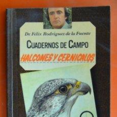 Livros em segunda mão: CUADERNOS DE CAMPO - FELIX RODRIGUEZ DE LA FUENTE - HALCONES Y CERNÍCALOS Nº 19 - ED. MARIN 1978. Lote 52481164