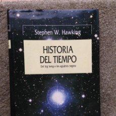 Libri di seconda mano: HISTORIA DEL TIEMPO. STEPHEN W. HAWKING. ED. CRITICA. 1988. Lote 52482084