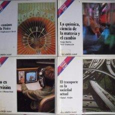 Libros de segunda mano de Ciencias: CUATRO LIBROS DE LA COLECCIÓN ''TEMAS CLAVE'' DE SALVAT (1981-1984). Lote 52542452