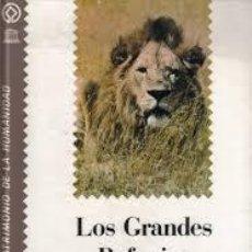 Libros de segunda mano: LOS GRANDES REFUGIOS DE FAUNA SM EDITORIAL 1988 TAPA DURA EL PATRIMONIO DE LA HUMANIDAD. Lote 52557827