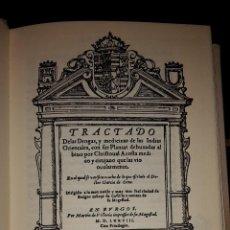 Libros de segunda mano: TRACTADO DE LAS DROGAS, Y MEDICINAS DE LAS INDIAS ORIENTALES,VICENTE GARCIA.. Lote 52637914