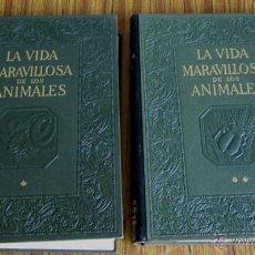 Libros de segunda mano: 2 TOMOS LA VIDA MARAVILLOSA DE LOS ANIMALES ENCANTO Y EMOCIONES DE UNA DE LAS MÁS SORPRENDENTES. Lote 52695067