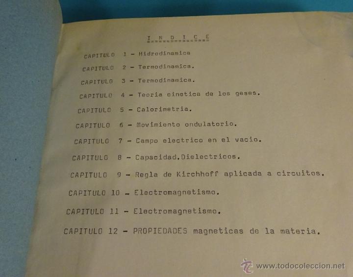 APUNTES PROBLEMAS DE FÍSICA. UNIVERSIDAD POLITÉCNICA DE VALENCIA (Libros de Segunda Mano - Ciencias, Manuales y Oficios - Física, Química y Matemáticas)