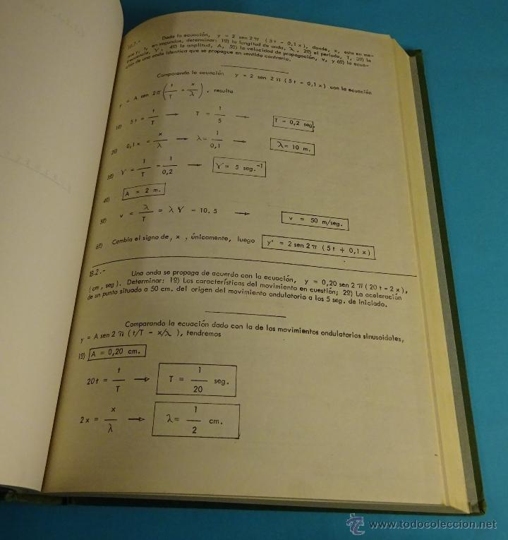 Libros de segunda mano de Ciencias: APUNTES PROBLEMAS DE FÍSICA. UNIVERSIDAD POLITÉCNICA DE VALENCIA - Foto 3 - 52820884