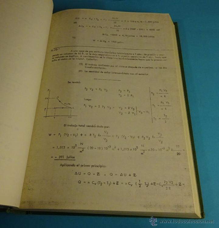 Libros de segunda mano de Ciencias: APUNTES PROBLEMAS DE FÍSICA. UNIVERSIDAD POLITÉCNICA DE VALENCIA - Foto 4 - 52820884