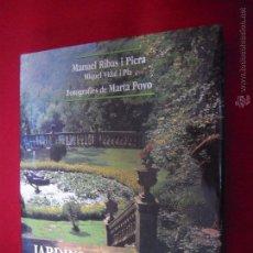 Libros de segunda mano: JARDINS DE CATALUNYA - RIBAS I PIERA & VIDAL I PLA - EDICIONS 62 - CARTONE CON SOBRECUBIERTAS. Lote 194517560