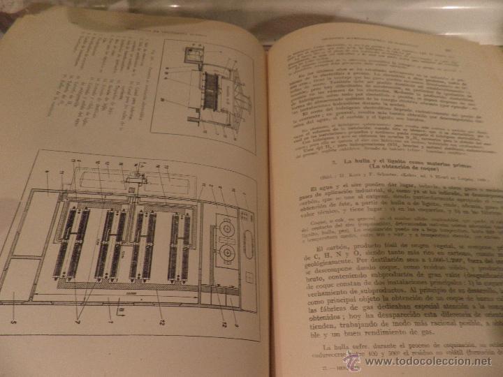 Libros de segunda mano de Ciencias: COMPEDIO DE TECNOLOGIA QUIMICA PARA QUIMICOS E INGENIEROS , DR HENGLEIN 1ªEDIC. AÑO 1943 - Foto 8 - 52897390