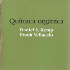 Libros de segunda mano de Ciencias: DANIEL S. KEMP, FRANK VELLACCIO. QUÍMICA ORGÁNICA. RM72143. . Lote 52935403