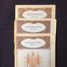 Libros de segunda mano de Ciencias: GEOMETRÍA 1 - 2 -3 . Lote 53079161