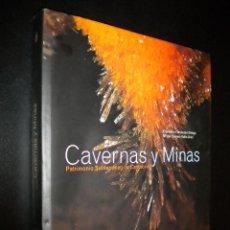 Libros de segunda mano: CAVERNAS Y MINAS / PATRIMONIO SUBTERRANEO DE CANTABRIA / F. FERNANDEZ ORTEGA Y Mª CARMEN VALLS URIOL. Lote 53098143