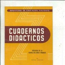 Livros em segunda mão: GEOLOGÍA DE LA CUENCA DEL EBRO Y LOS PIRINEOS. RAFAEL CABAÑÁS. Lote 53185080