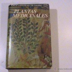 Libros de segunda mano: PLANTAS MEDICINALES. (AUTOR: ARGOROMENDIA) . Lote 53194625