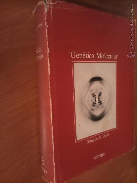 GENÉTICA MOLECULAR GUNTHER S. STENT. (Libros de Segunda Mano - Ciencias, Manuales y Oficios - Biología y Botánica)