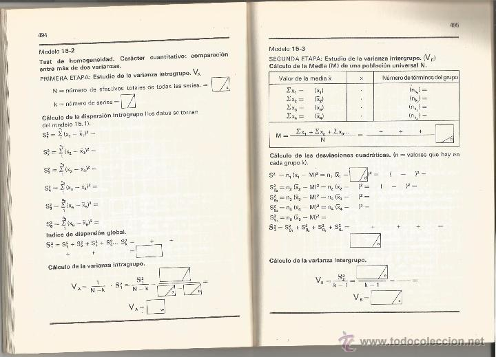dos libros: manual de estadística médica y apén - Comprar Libros de ...