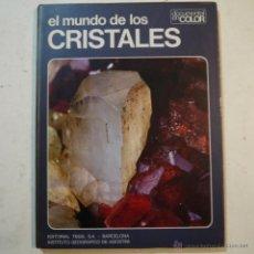 Libros de segunda mano: EL MUNDO DE LOS CRISTALES. DOCUMENTAL EN COLOR - VICENZO DE MICHELE - EDITORIAL TEIDE - 1973. Lote 53516760