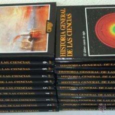 Libros de segunda mano de Ciencias: HISTORIA GENERAL DE LAS CIENCIAS - 18 TOMOS COMPLETA - ORBIS 1988 - 3821 PÁGINAS - VER DESCRIPCIÓN. Lote 53533353