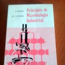 Libros de segunda mano: PRINCIPIOS DE MICROBIOLOGÍA INDUSTRIAL A. RHODES Y D.L. FLETCHER 1969. Lote 53612823