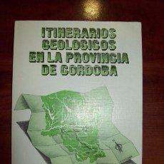 Libros de segunda mano: ITINERARIOS GEOLÓGICOS DE LA PROVINCIA DE CÓRDOBA / RAFAEL M. ÁLVAREZ SUÁREZ... [ET AL.]. Lote 53629378