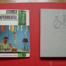 Libros de segunda mano de Ciencias: QUÍMICA EXPERIMENTAL PARA TODOS (ED. R. SOPENA, 1967) ¡ORIGINAL! COLECCIONISTA. Lote 53658488