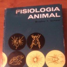 Libros de segunda mano: FISIOLOGÍA ANIMAL BRADLEY T. SCHEER 1969 OMEGA. Lote 53735947