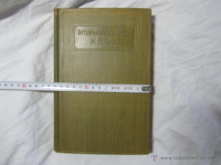Libros de segunda mano de Ciencias: Experimental atomic physics Harnwell Livingood 1933 - Foto 9 - 53812664