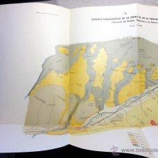 Libros de segunda mano: ESTUDIO HIDROGRÁFICO DE LA ZONA SE DE LA PROVINCIA DE HUELVA. 1944. I. GEOLÓGICO Y MINERO. Lote 53992007