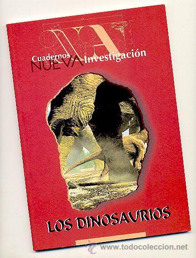 LOS DINOSAURIOS -JOSÉ MANUEL ESCOBERO- NUEVA ACRÓPOLIS. AÑO 1996. ENVÍO: 2,50 € *. (Libros de Segunda Mano - Ciencias, Manuales y Oficios - Paleontología y Geología)