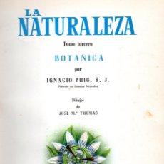 Libros de segunda mano: PUIG : BOTÁNICA (LA NATURALEZA III, JOVER, 1970) MUY ILUSTRADO EN COLOR. Lote 54055874