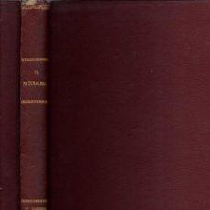 Libros de segunda mano: PANYELLA : EL HOMBRE - ORIGEN Y VIDA (LA NATURALEZA V, JOVER, 1970) MUY ILUSTRADO EN COLOR. Lote 54055972