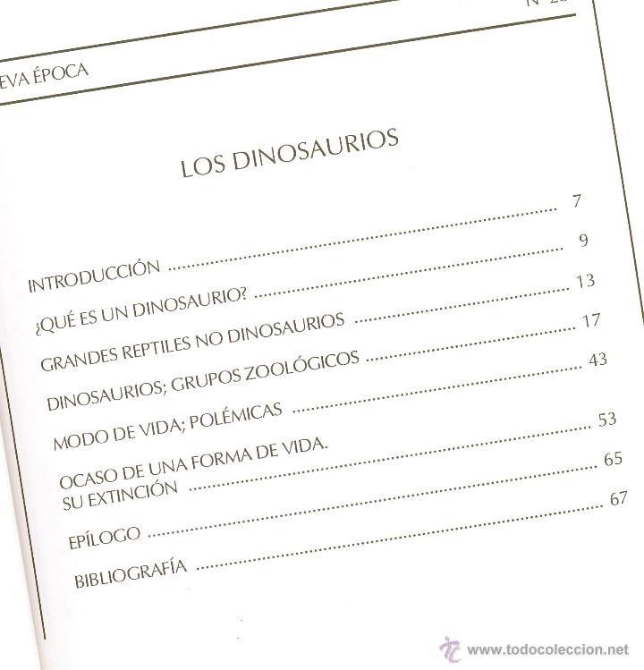Libros de segunda mano: LOS DINOSAURIOS -José Manuel Escobero- Nueva Acrópolis. Año 1996. Envío: 2,50 € *. - Foto 2 - 54035341