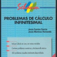 Libros de segunda mano de Ciencias: PROBLEMAS DE CALCULO INFINITESIMAL. Lote 54143012