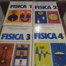 Libros de segunda mano de Ciencias: FISICA (4 TOMOS) - EDITORIAL MIR - OBRA COMPLETA -. Lote 54158894