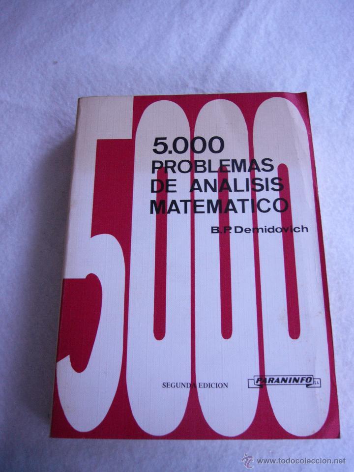 5000 problemas de analisis matematico demidovich pdf gratis