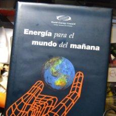 Libros de segunda mano de Ciencias: ENERGIA PARA EL MUNDO DE MAÑANA WORLD ENERGY COUNCIL MADRID 1993 TABAPRESS. Lote 54436661