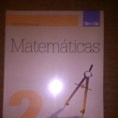 Libros de segunda mano de Ciencias: MATEMATICAS II SEGUNDO BACHILLERATO 2 OXFORD TESELA. Lote 54448513