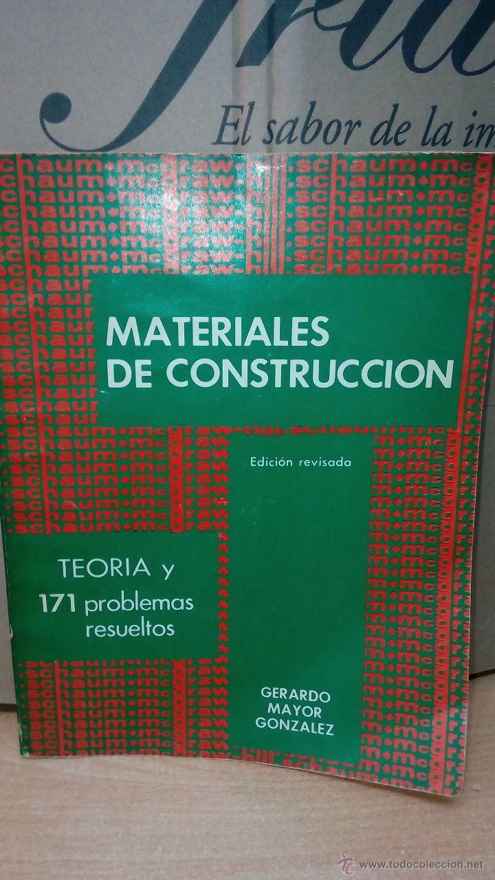 Libros schaum materiales de construcci n vendido en - Material de construccion segunda mano ...