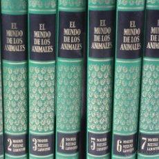 Libros de segunda mano: L-3333 EL MUNDO DE LOS ANIMALES. 8 TOMOS. EDITORIAL NOGUER 1970. Lote 54801389