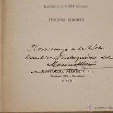 Libros de segunda mano: 6483 - MANUAL DE GEOLOGIA. SAN MIGUEL DE LA CÁMARA. EDIT. MARIN. 1938.. Lote 49669697