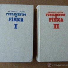 Libros de segunda mano de Ciencias: FUNDAMENTOS DE FÍSICA. R. M. YAVORSKI - A. A. PINSKI. ED. MIR, 1983. 2 TOMOS. 630 + 599 PP.. Lote 55021871