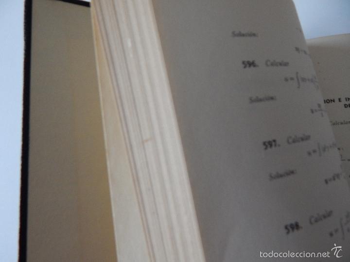 Libros de segunda mano de Ciencias: Mil problemas de cálculo infinitesimal. Segunda parte. Cálculo integral - José Luis Mataix Plana - Foto 4 - 103492511