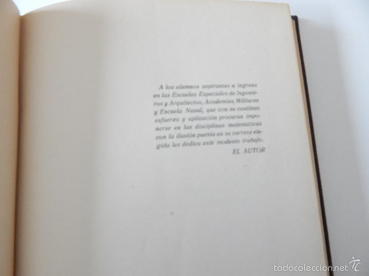 Libros de segunda mano de Ciencias: Mil problemas de cálculo infinitesimal. Segunda parte. Cálculo integral - José Luis Mataix Plana - Foto 8 - 103492511