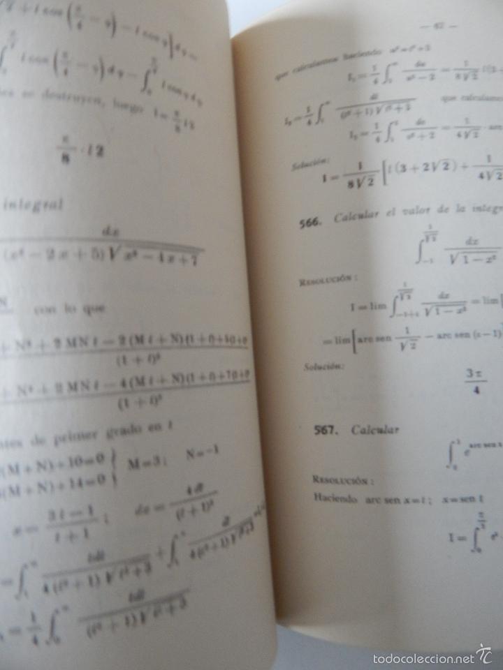 Libros de segunda mano de Ciencias: Mil problemas de cálculo infinitesimal. Segunda parte. Cálculo integral - José Luis Mataix Plana - Foto 10 - 103492511