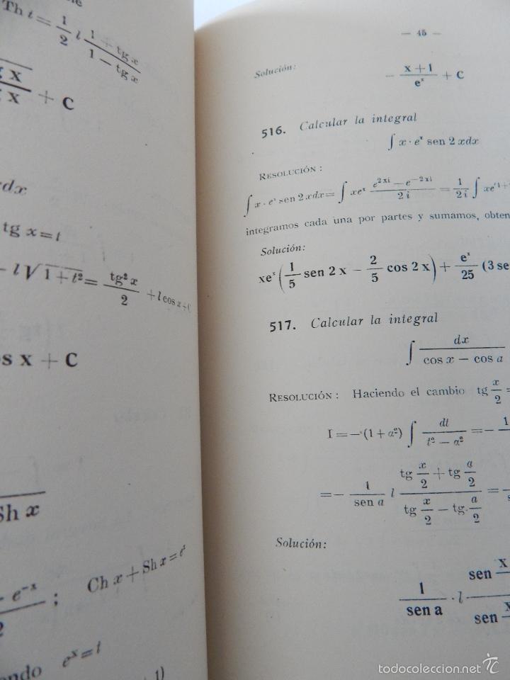 Libros de segunda mano de Ciencias: Mil problemas de cálculo infinitesimal. Segunda parte. Cálculo integral - José Luis Mataix Plana - Foto 13 - 103492511