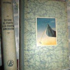 Libros de segunda mano de Ciencias: DESDE EL PUNTO A LA CUARTA DIMENSION. UNA GEOMETRIA PARA TODOS EGMONT COLERUS. Lote 55358612