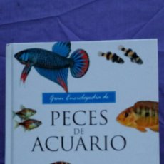 Livres d'occasion: GRAN ENCICLOPEDIA DE PECES DE ACUARIO / SERVILIBRO. Lote 55868132