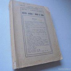 Libros de segunda mano: NOTAS Y COMUNICACIONES DEL INSTITUTO GEOLÓGICO Y MINERO DE ESPAÑA-AÑO 1958-II TRIMESTRE, Nº. 50-. Lote 55879375