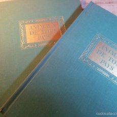 Libros de segunda mano: ANIMAUX DE TOUS PAYS...1º EDICION 1944...3 TOMOS..EN FRANCES ..EDIT.SILVA ..ZURICH..ANIMALES. Lote 56268874