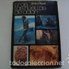 Libros de segunda mano: TRAS LAS HUELLAS DE ADAN HERBERT WENDT. Lote 56340807